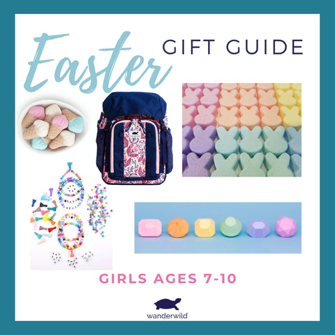 Easter Basket Gift Guide Girls ages 7 to 10