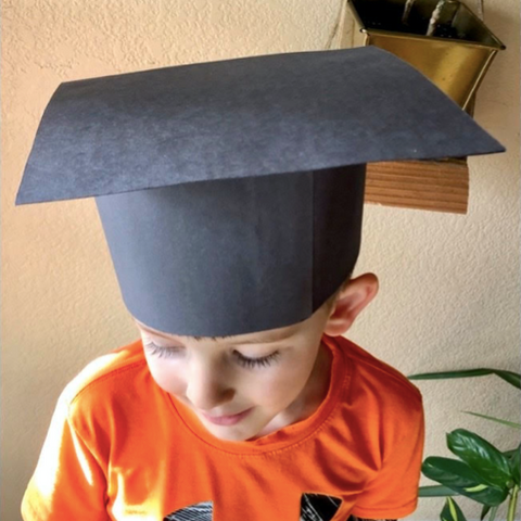 Make Your Own Child's Graduation Cap
