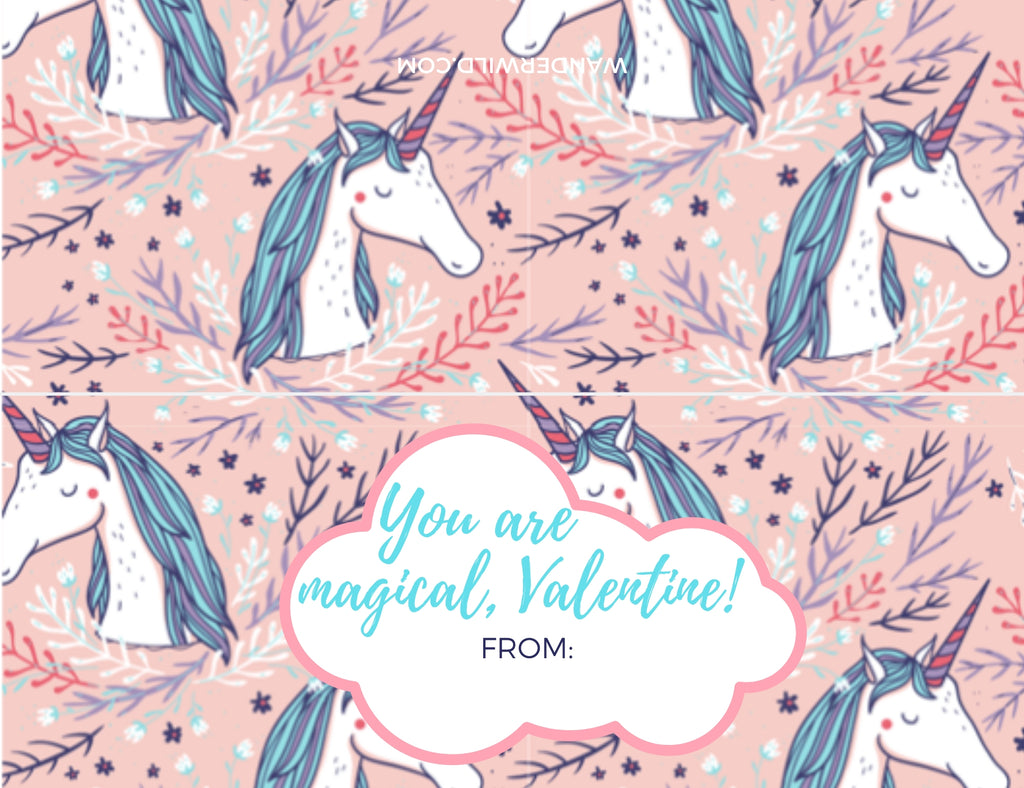 Printable: Valentine's Day Bag Toppers