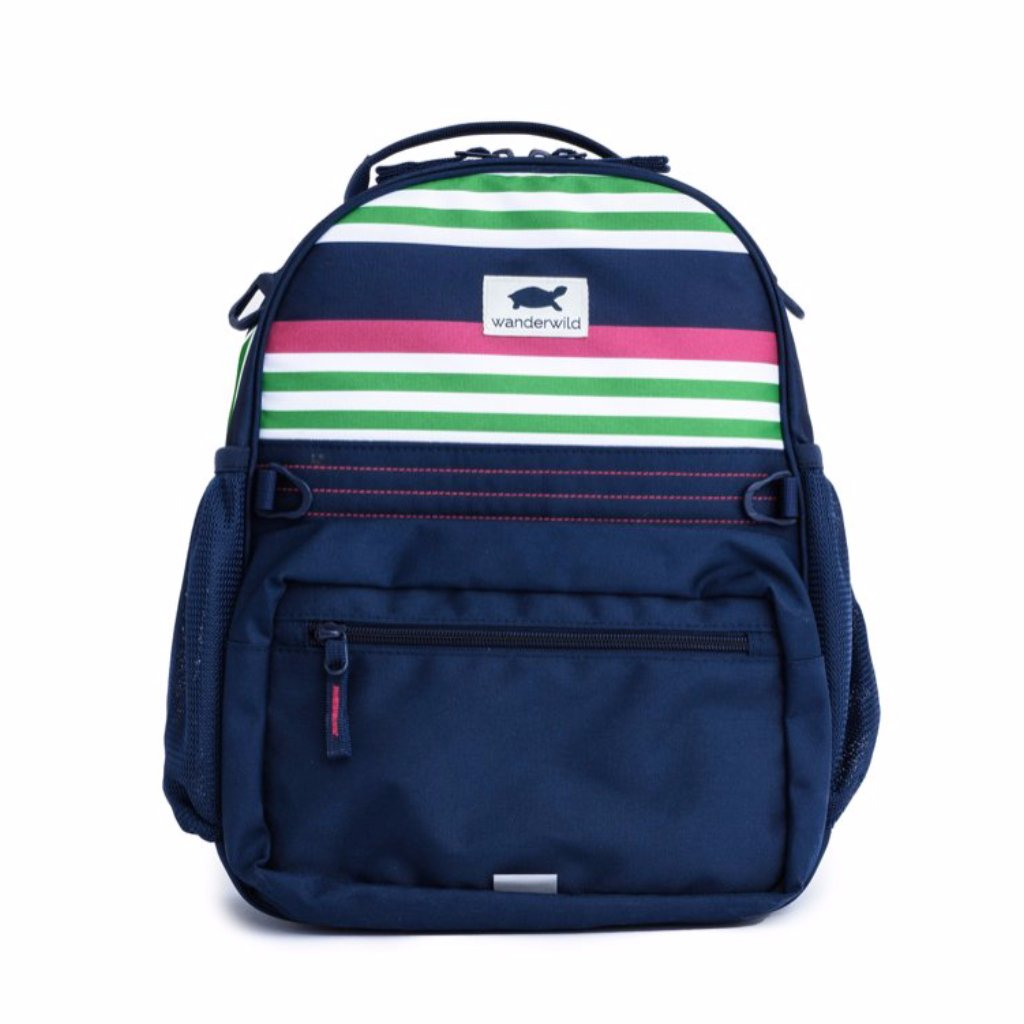 Warehouse Sale - The Wanderer - Raspberry Stripe