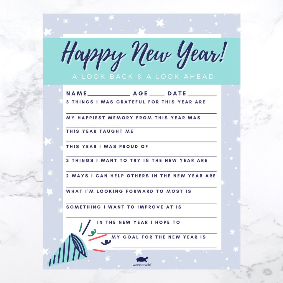 Printable: Happy New Year!