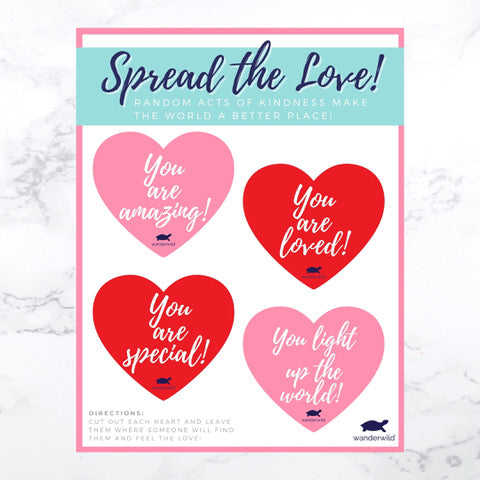 Printable: Spread The Love!