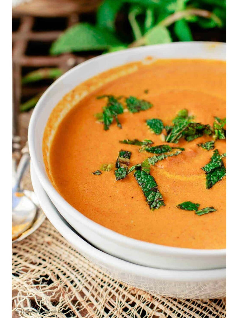 Creamy Roasted Carrot Ginger Soup