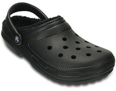 Classic Lined Fuzzy Crocs