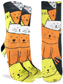 Women's Cats Are Watching Socks