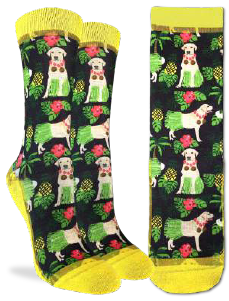 Women's Hula Labrador Retriever Socks