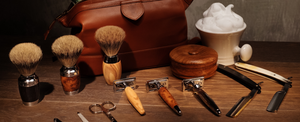 The Shaving Den traditional shaving products