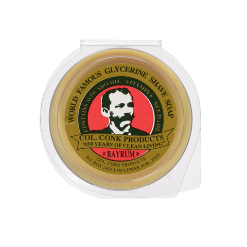 Col Conk Bay Rum Shaving Soap