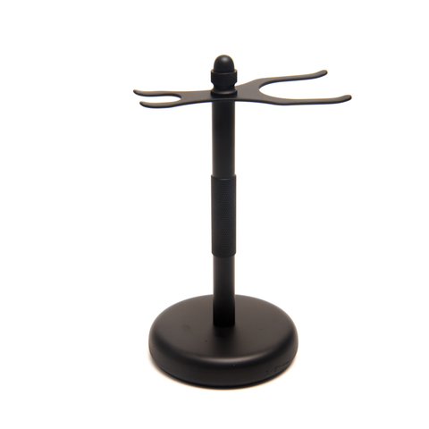 PureBadger Black Shaving Stand