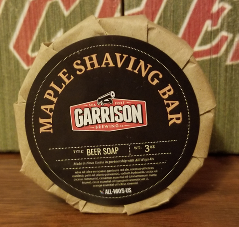 Garrison Maple Beer Shaving Soap - 3oz
