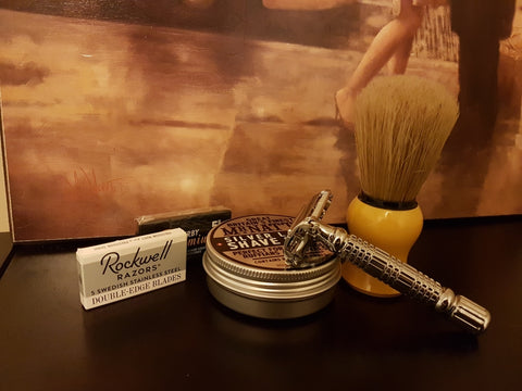 "Rockwell ""Rookie"" Shaving Kit"