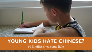 Young kids hate Chinese? 50 families shed some light