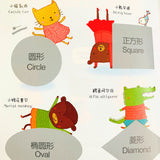 认知启蒙贴纸书 Usborne My First Sticker Book Series (Set of 4)