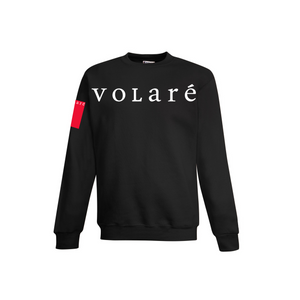 volare™ Wordmark Crewneck Sweater - Black