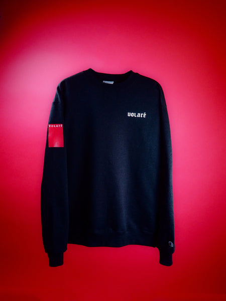 "*EXCLUSIVE ""LET GO, FEEL FREE"" CREWNECK SWEATSHIRT"