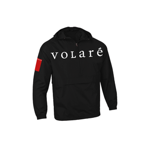 volare™ Wordmark Pullover Anorak Jacket - Black