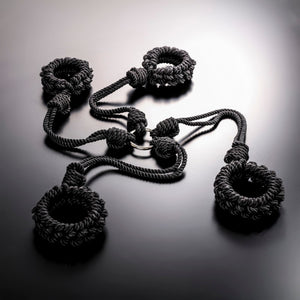 Stylish Braided Rope Bondage Harness