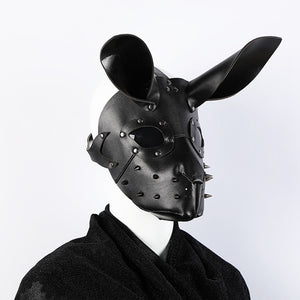 Horny Bunny Leather Gimp Mask