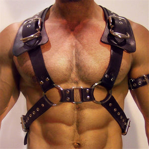 Gladiator Inspired Bondage Harness
