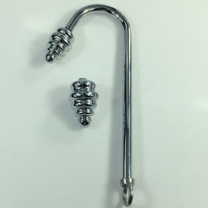 Ribbed Delight BDSM Anal Hook