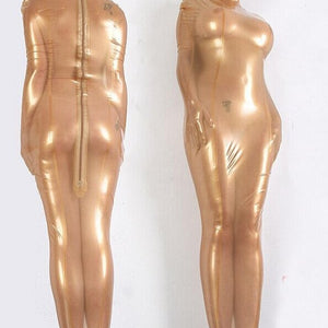 Transparent Sleep Sack Adult Latex Suit
