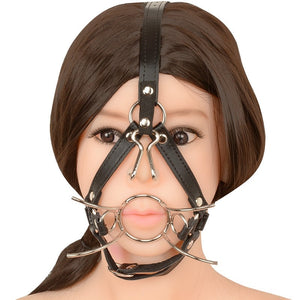 Wicked Spider Gag Bondage Harness