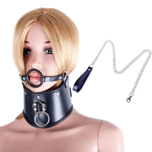 Slave Control Mouth Gag Sex Harness