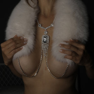 Fashionista Slave Nipple Clamp Necklace