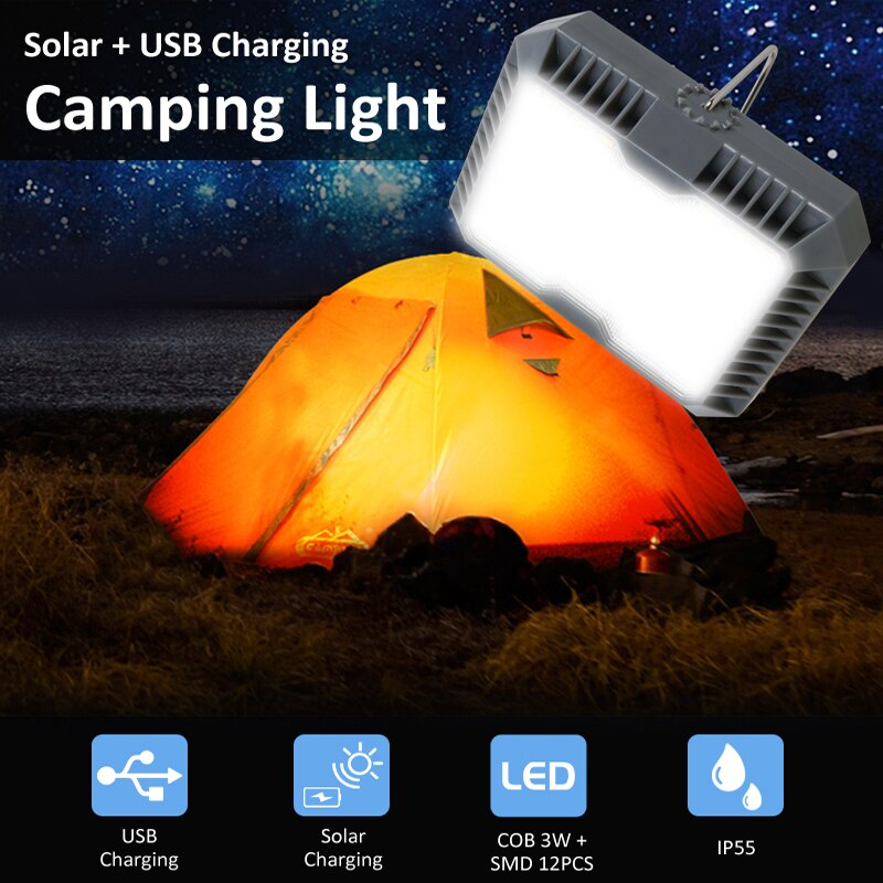 LAMPE SOLAIRE CAMPING