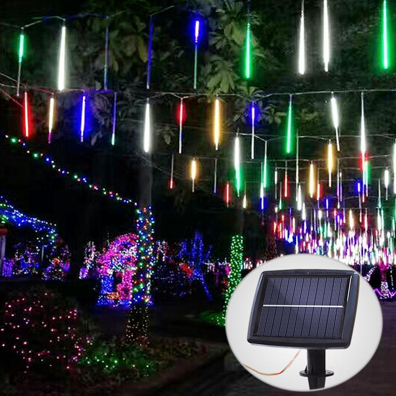 Tube LED Solaire Multicolore - Trendszy.com