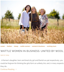 Wattle & Twine Women in Business Blog feature