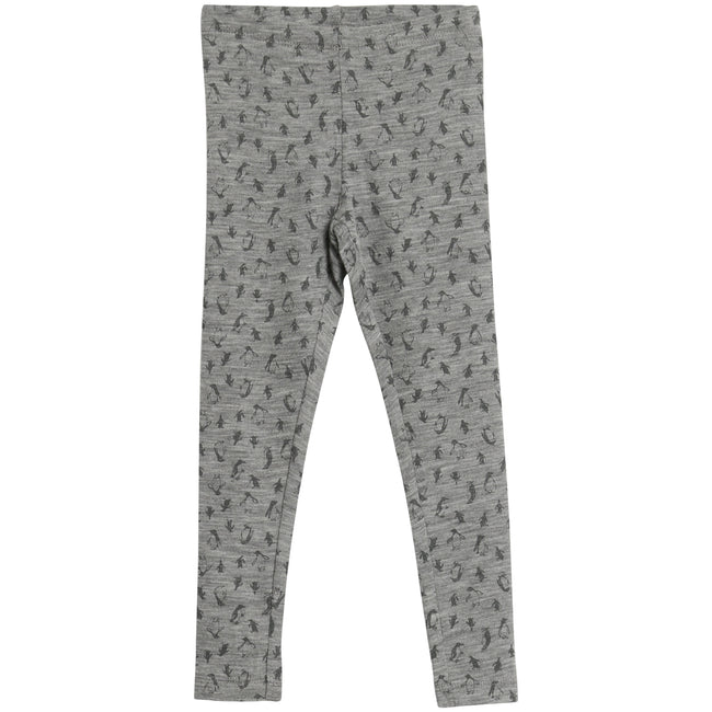 Wool Leggings with Penguin print