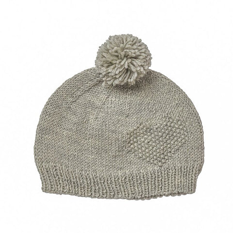 Adventure Beanie Grey Stripe
