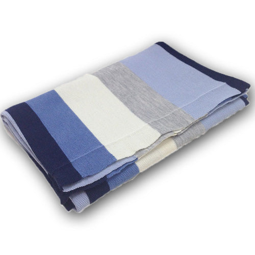 Fusion Cot Blanket - Blue