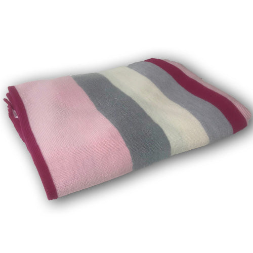 Fusion Cot Blanket - Pink