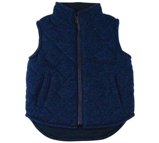 Childrens Navy Vest