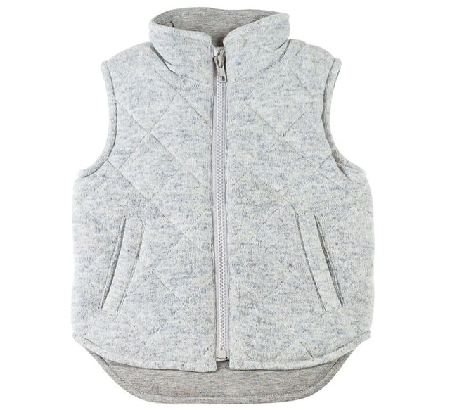 Childrens Grey Vest