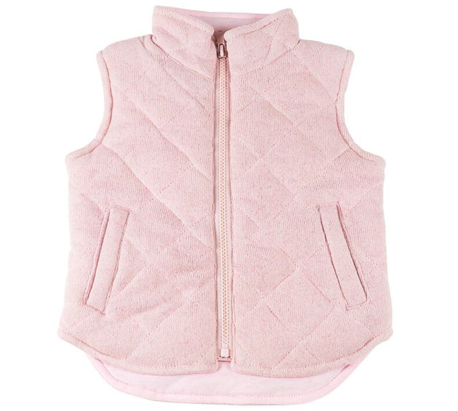 Childrens Pink Vest