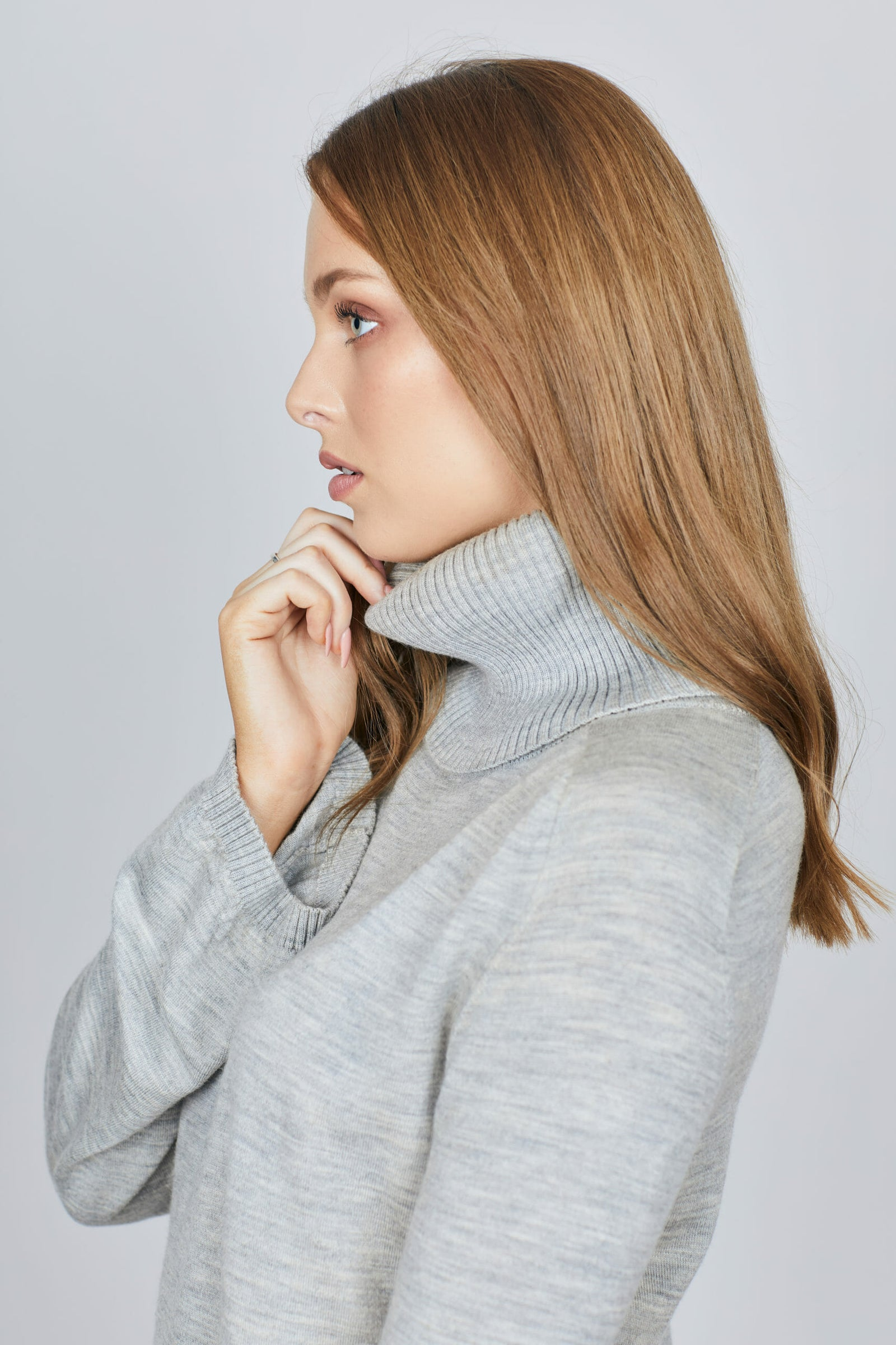 The Gum's Capelet - Marle Grey