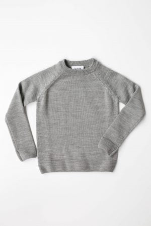 Merino Jumper - Grey