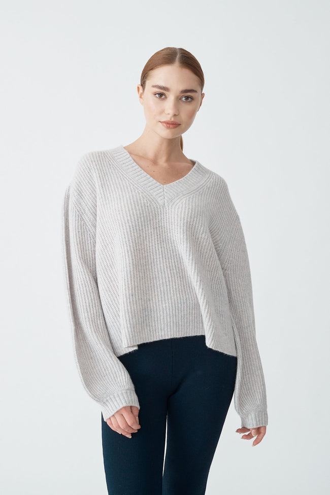 Womens Betty Neck Sweater - Husky