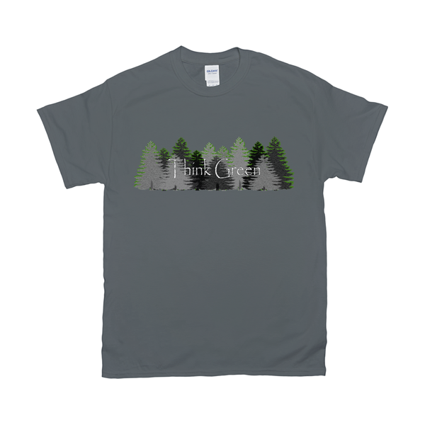 Think Green Men's Fine Jersey T-Shirts