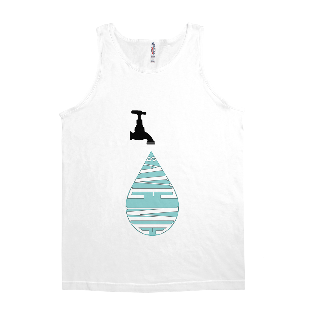 Save Me Water Conservation Men's Tank Tops