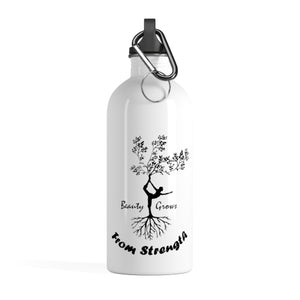 Beauty Strength Stainless Steel Water Bottle