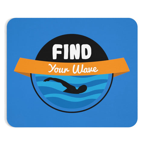 Find Your Wave: Swim #1 - Mousepad