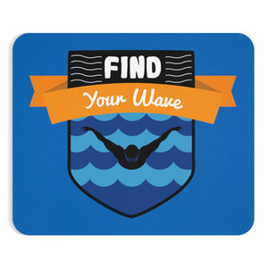 Find Your Wave: Swim #2 - Mousepad