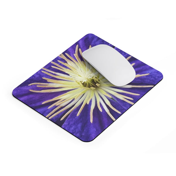 Purple Clematis - Mousepad