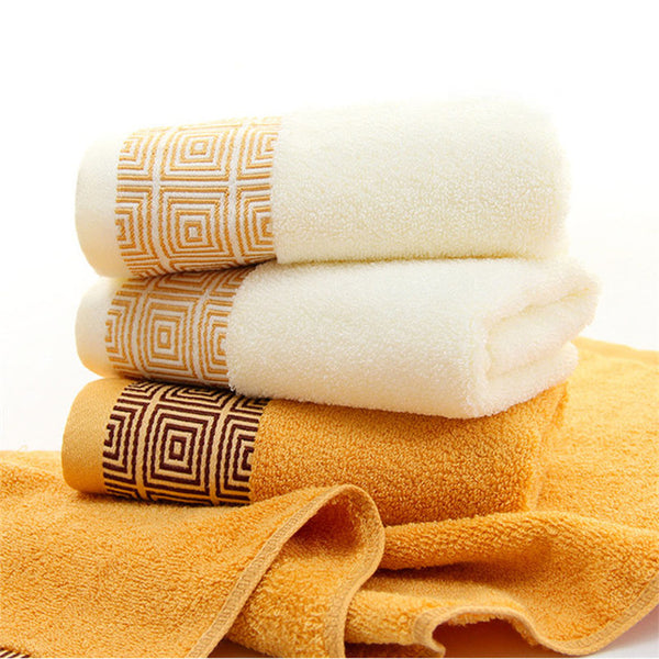 Soft Bamboo Fiber Face Towel For Adults