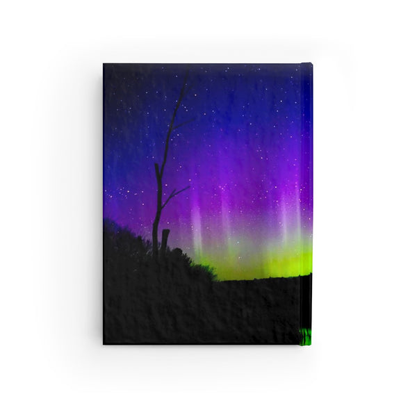 Aurora Borealis Journal - Lined Pages