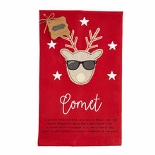 Load image into Gallery viewer, Mud Pie Reindeer Tea Towels